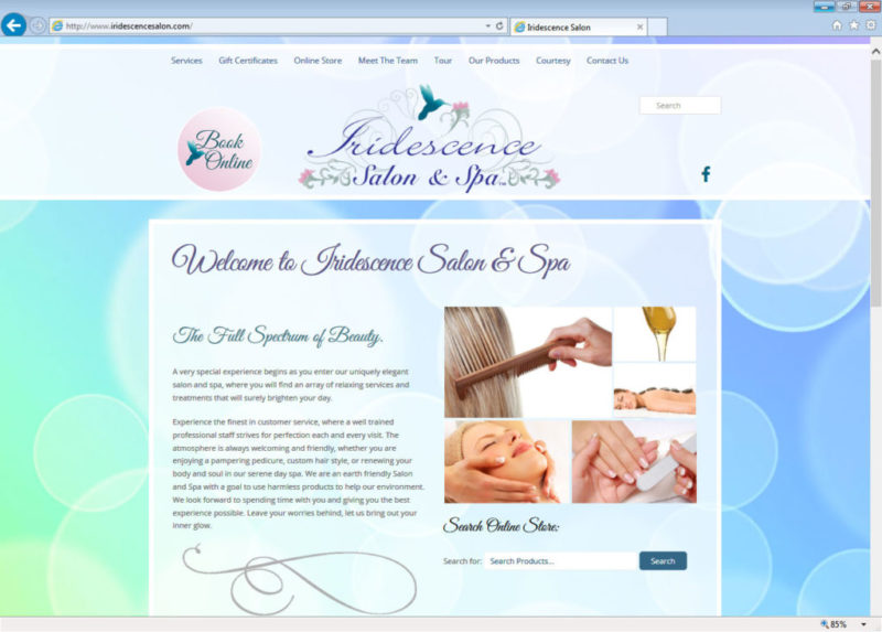 Iridescence Salon and Spa